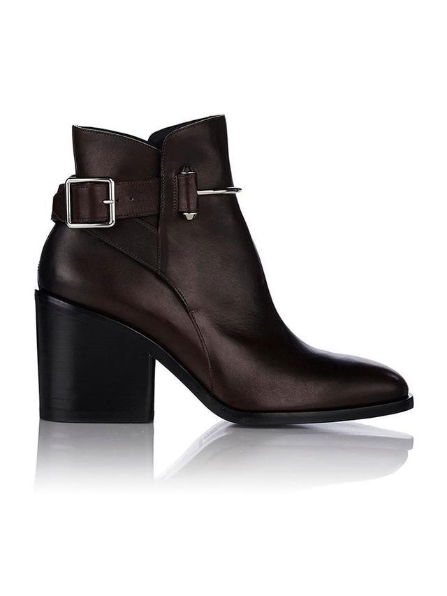 Balenciaga Pierced Ankle Boots