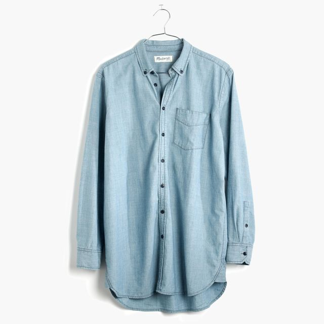 Madewell Oversized Chambray Shirt
