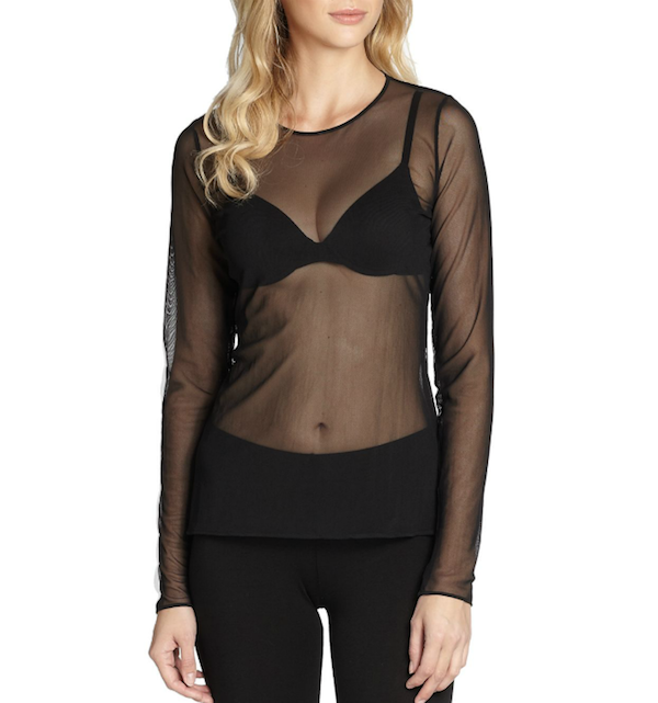 Wolford Sheer Tulle Pullover