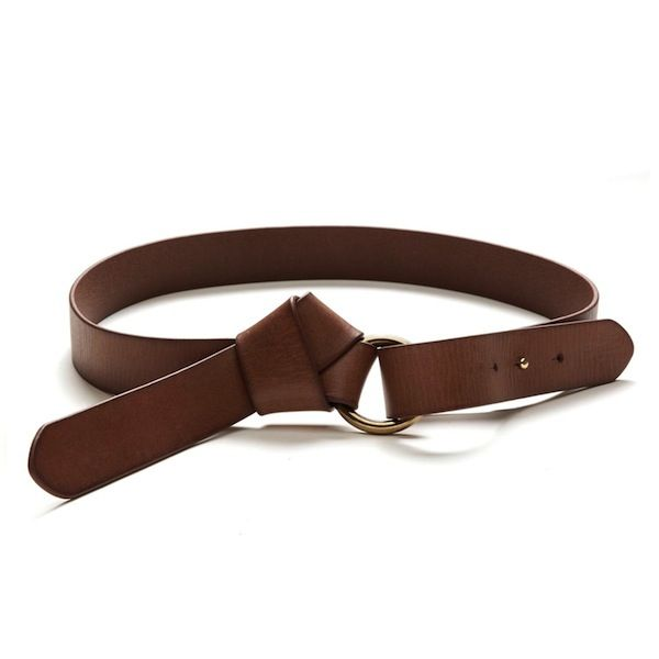 Banana Republic Knotted Leather Belt