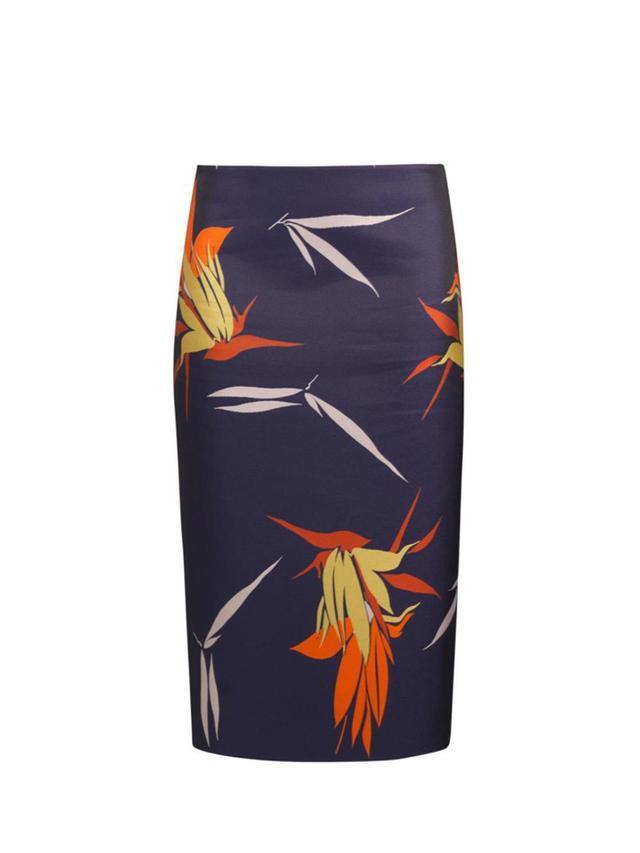 Marni Floral-Jacquard Pencil Skirt