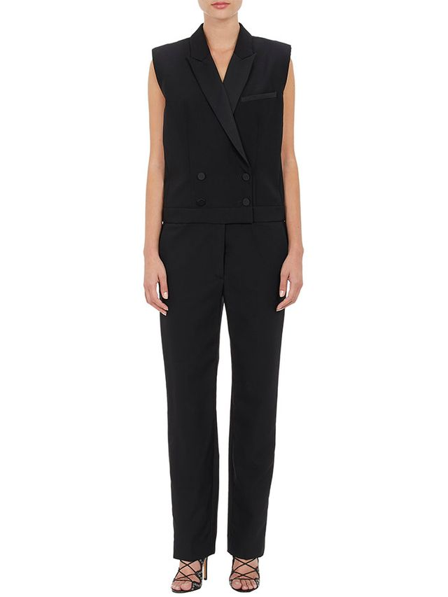Isabel Marant Milt Double-Breasted Tuxedo Jumpsuit