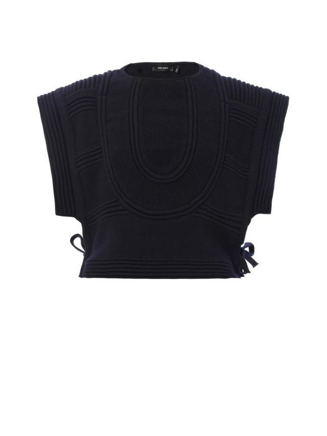 Isabel Marant Kelson Ribbed-Knit Tabard