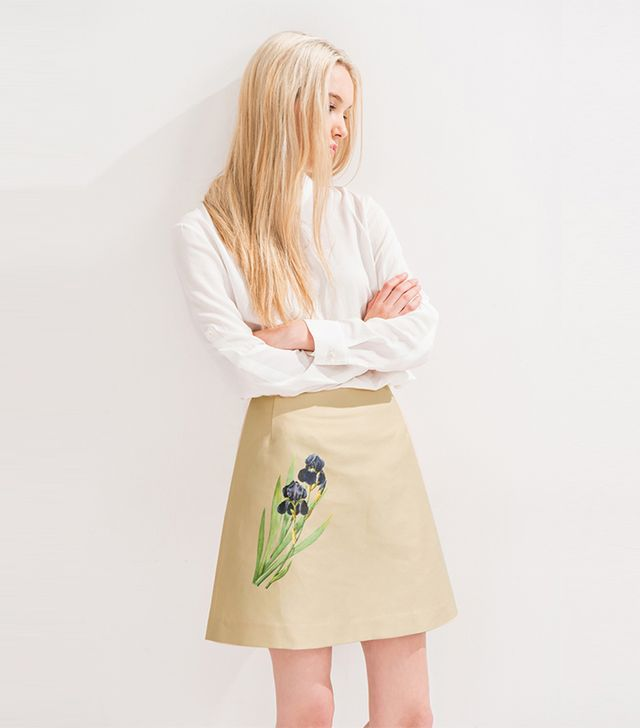 Front Row Shop A-Line Circle Skirt