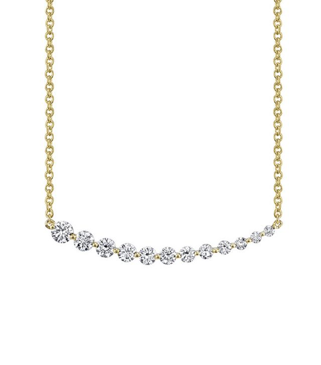 Anita Ko Floating Diamond Necklace