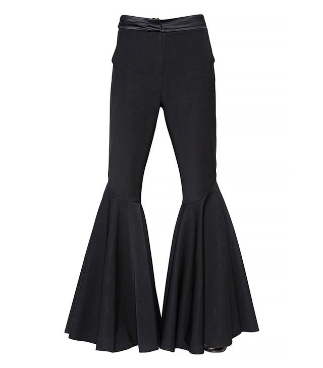 Ellery Flared Wool Twill Pants
