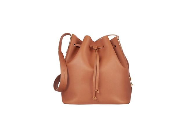 Sophie Hulme Matte-Leather Bucket Bag