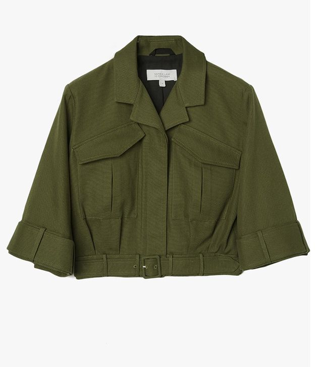 Derek Lam 10 Crosby Cropped Military Jacket
