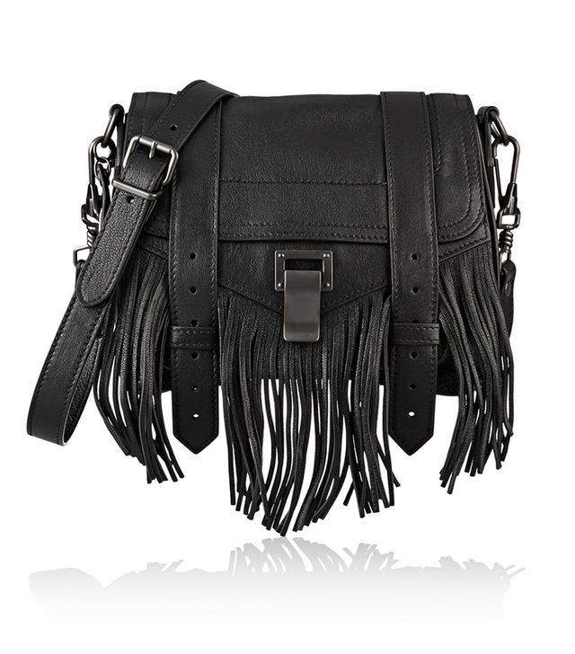 Proenza Schouler The PS1 Small Fringed Leather Shoulder Bag