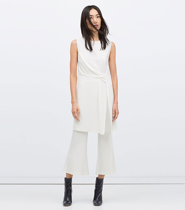Zara Draped Studio Tunic