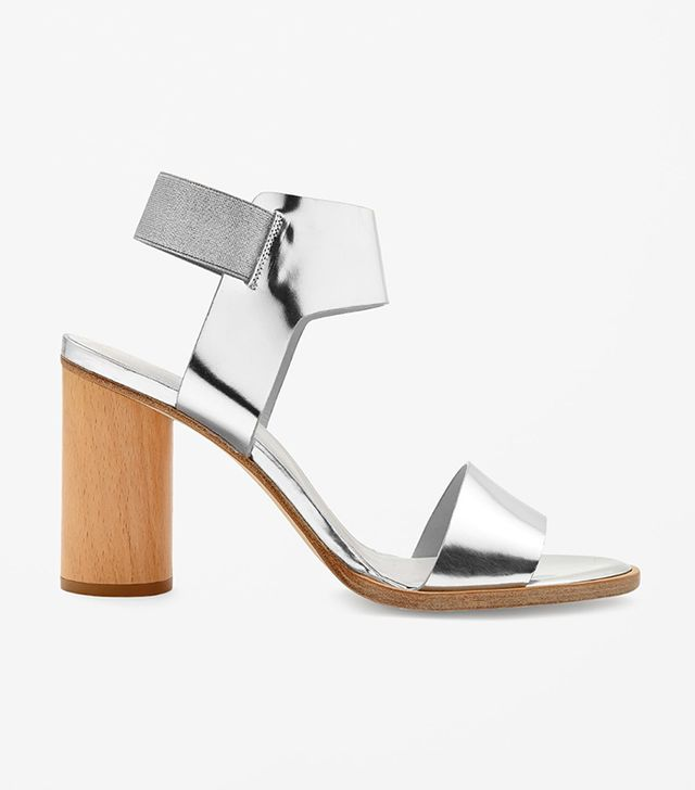 COS Metallic Sandals