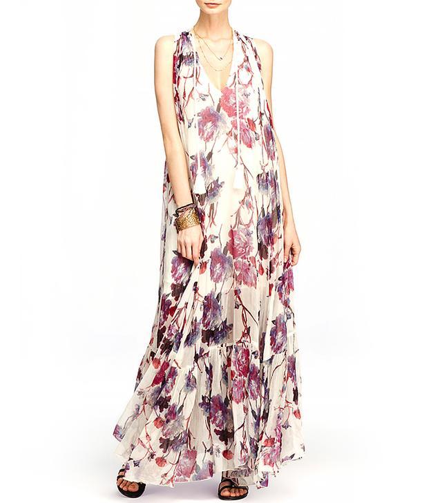 Free People Juno Floral Print Maxi Dress