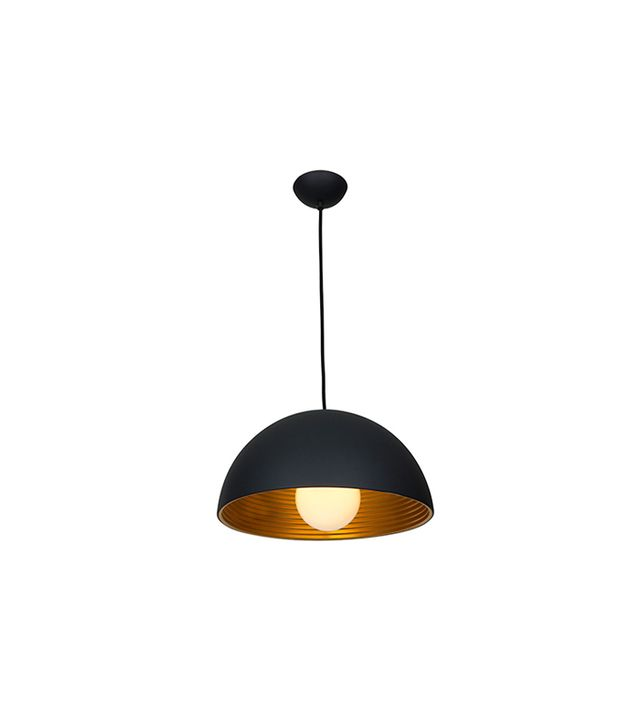 Access Lighting Astro Matte Black Dome Pendant