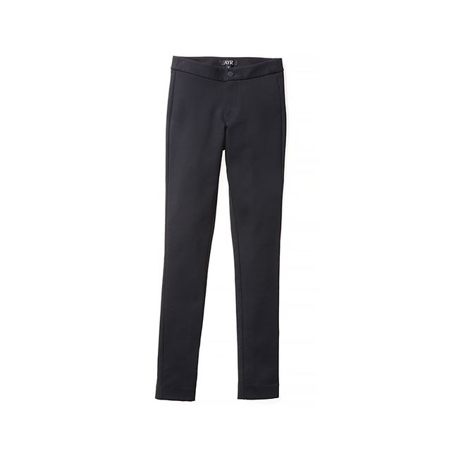 AYR The Ponte Pant in Black