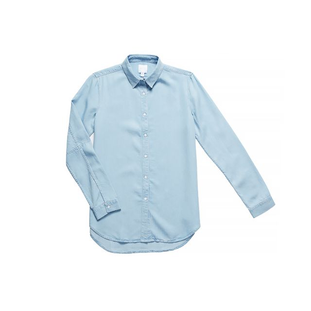 AYR The Clean Shirt in Ice Wash