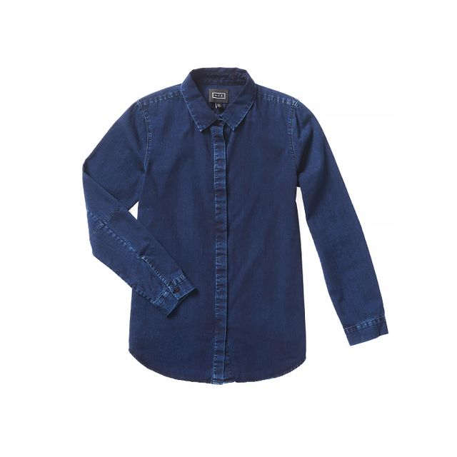 AYR The Denim Clean Shirt in Indigo