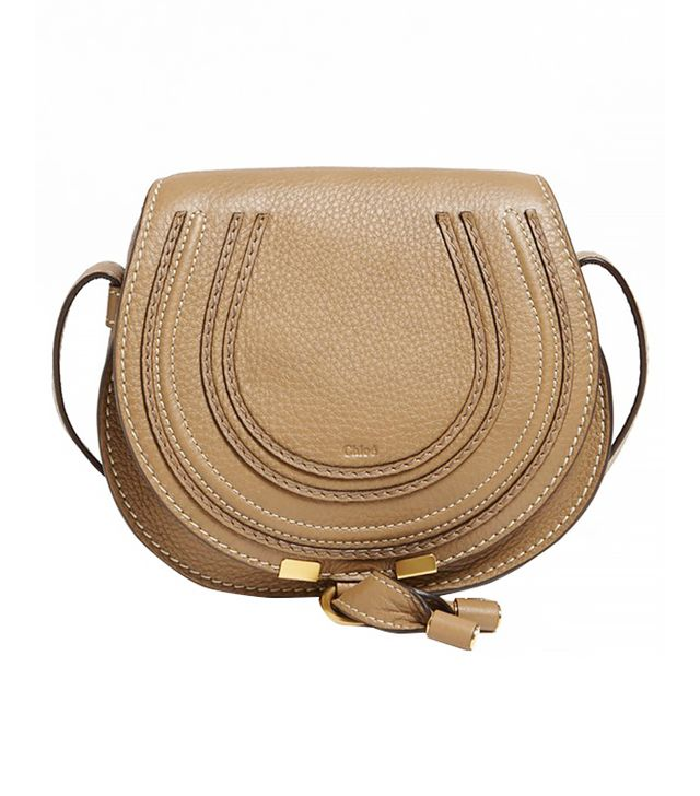 Chloé Marcie Small Leather Crossbody Bag