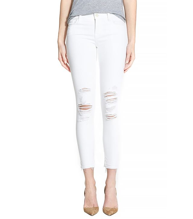 J Brand Low Rise Crop Jeans