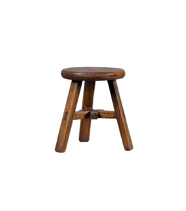 Antique Revival Wooden Stool