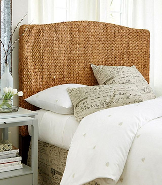 Ballard Designs Catania Water Hyacinth Headboard