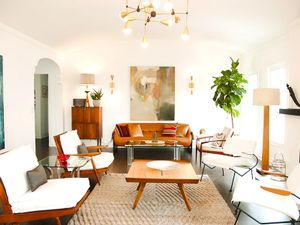 Home Tour: A Designer's Own Soft Midcentury Home