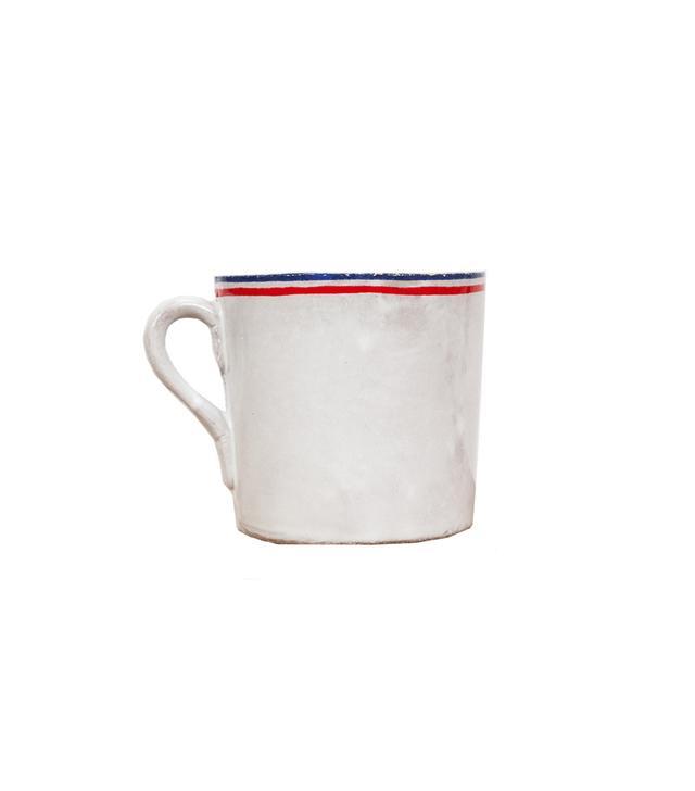 Astier de Villatte Tricolore Mug