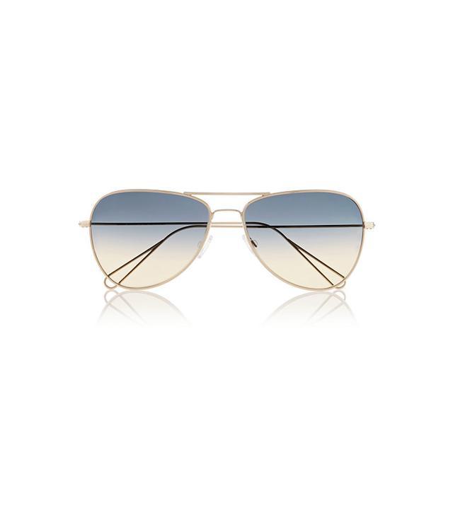 Isabel Marant Aviator-Style Metal Sunglasses