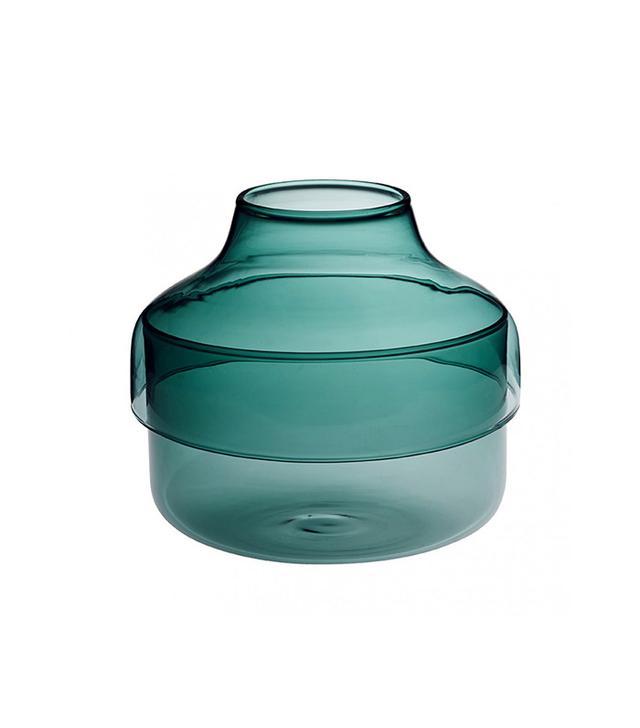 Merci Green Bottle Vase