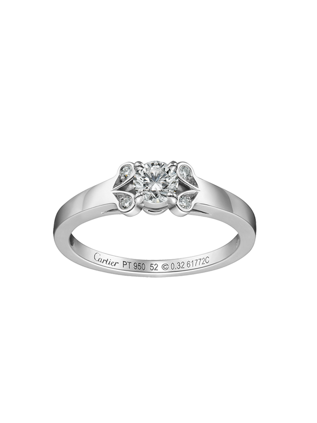 Cartier Ballerine Solitaire Ring