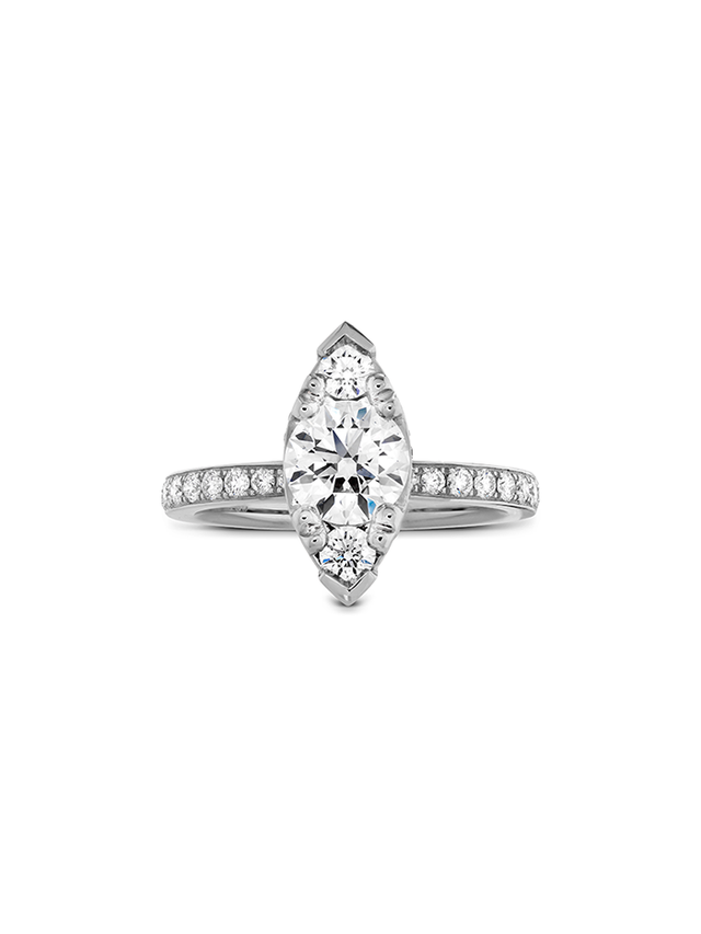Hearts on Fire Desire Regal Engagement Ring