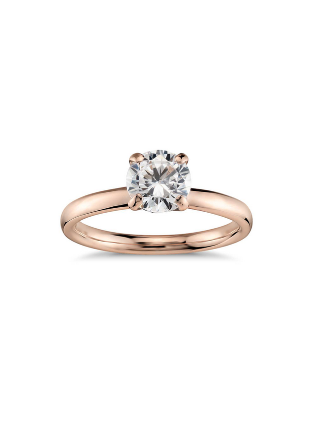 Monique Lhuillier Amour Solitair Engagement Ring
