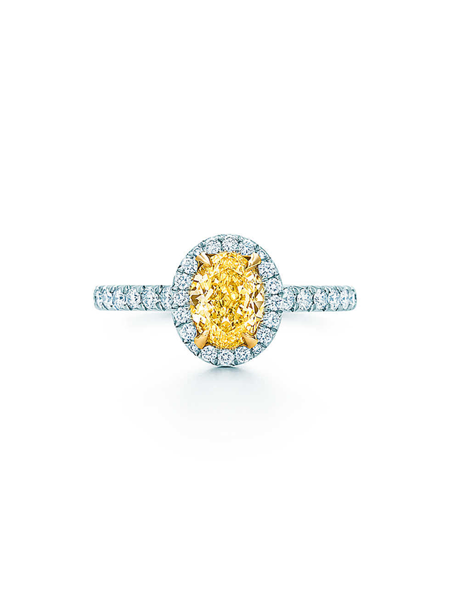 Tiffany & Co. Soleste Oval Ring