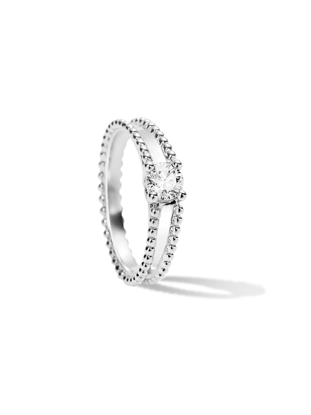 Van Cleef & Arpels Estelle Solitaire Ring