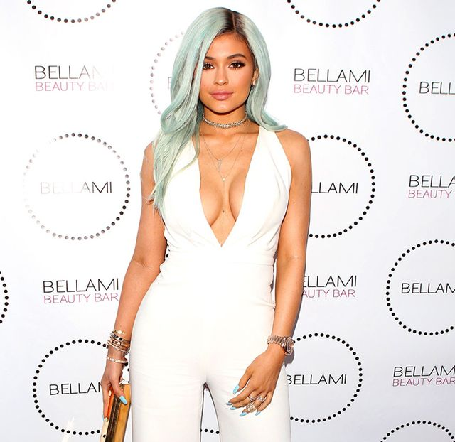 OMG: Kylie Jenner Dyed Her Hair Cotton Candy Blue