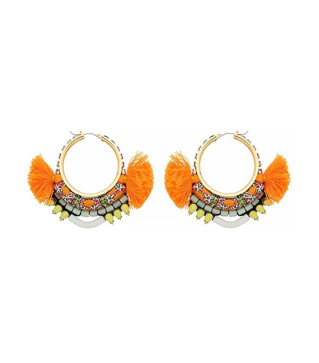 Akong London Maasai Hoop Earrings