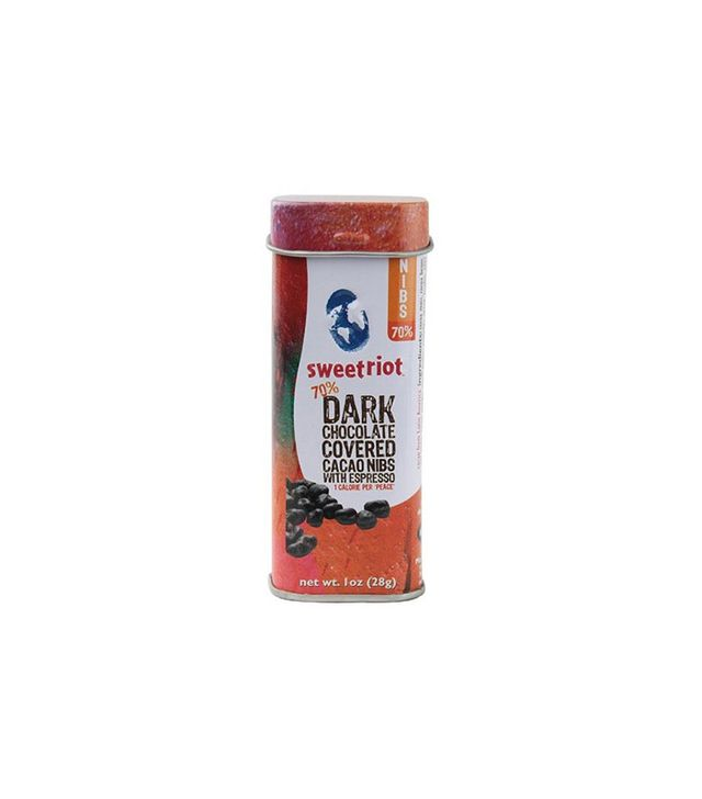 Sweet Riot Dark Chocolate Covered Cacao Nibs with Espresso