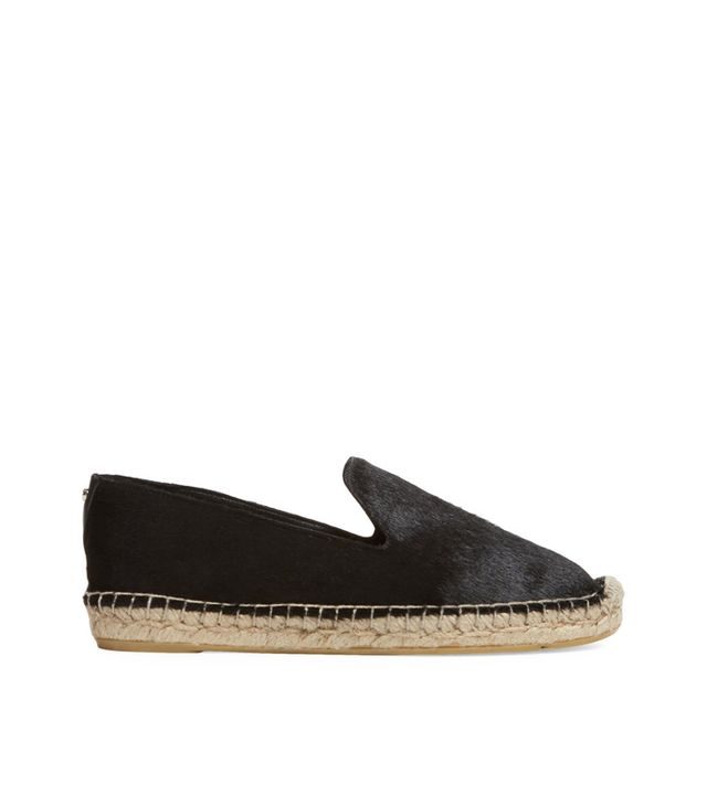 Delman Percy Calf Hair Espadrilles