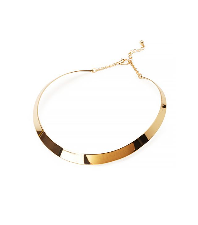 Forever 21 Linear Collar Necklace