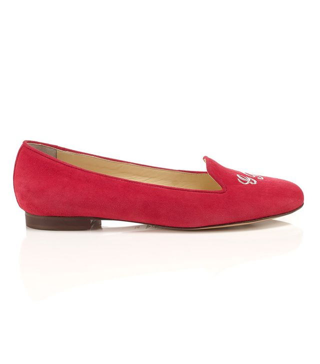 SchoShoes Suede Helene Loafers
