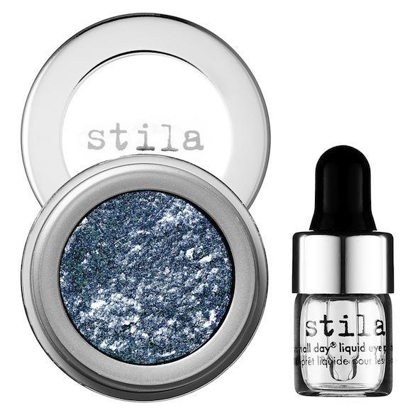 Stila Magnificent Metals Foil Finish Eye Shadow in Metallic Cobalt