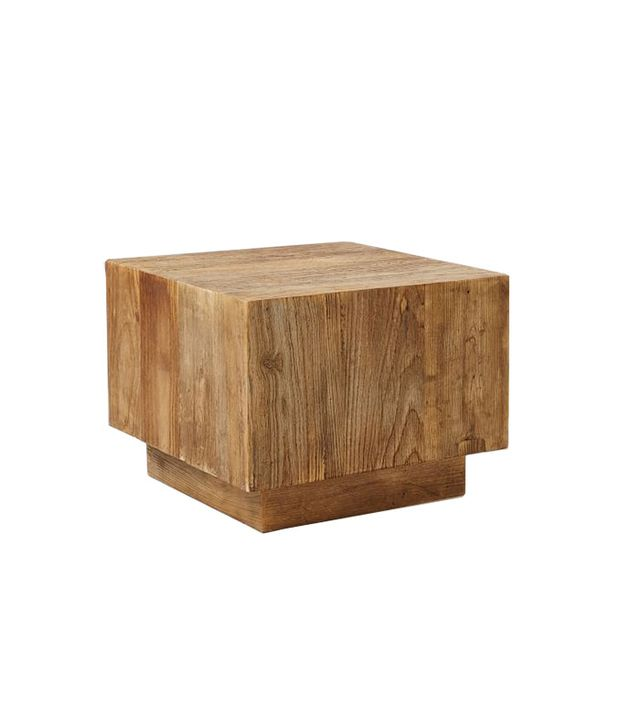 West Elm Plank Side Table