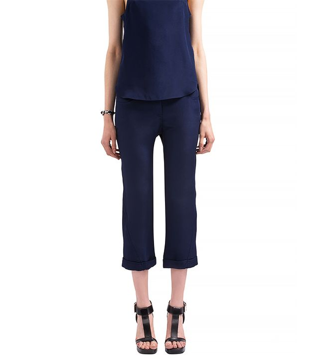 Costume National Silk Trousers