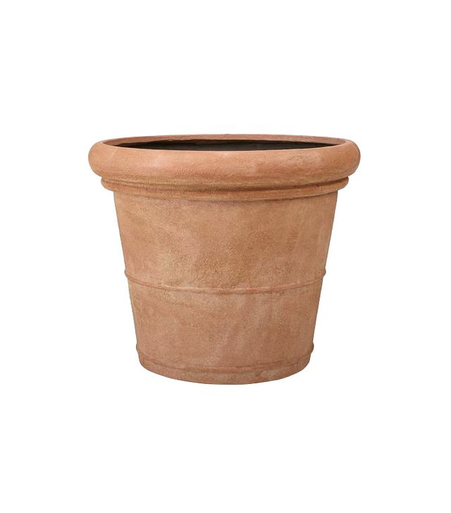 Pottery Barn Umbria Etched Concrete Planter