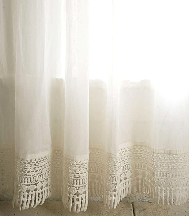 Urban Outfitters Plum & Bow Crochet Trip Curtain