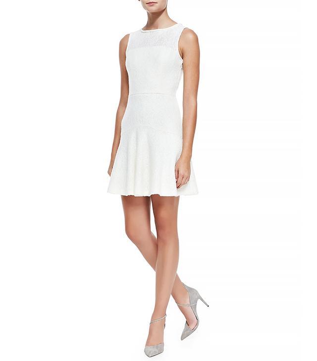 Black Halo Annapolis Sleeveless Lace Dress