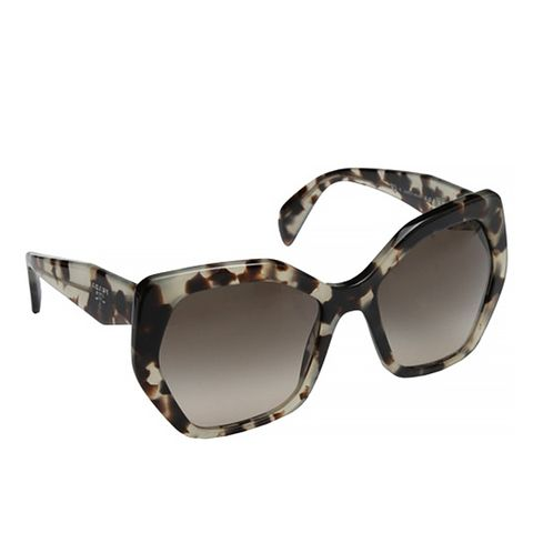 PR 16RS Sunglasses, Spotted Opal Brown/Light Brown Gradient