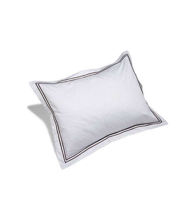 Pinzon Hotel Stitch Egyptian Cotton Sateen Standard Sham