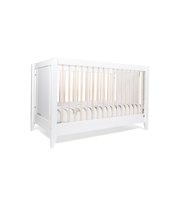 The Honest Co. x Babyletto White 4-in-1 Convertible Crib With Toddler Rail