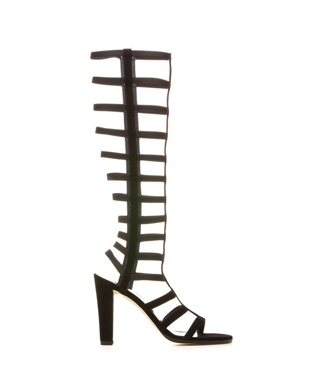 Stuart Weitzman Caged Up Sandals