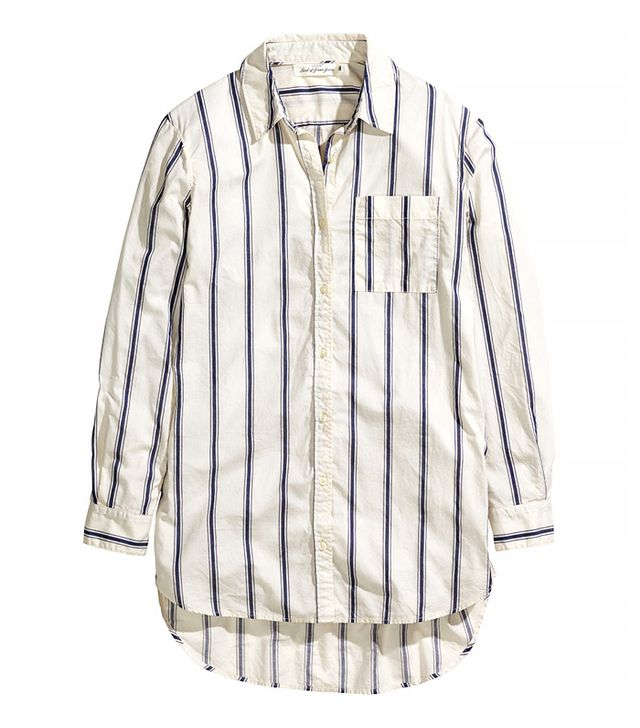 H&M Oversize Cotton Shirt